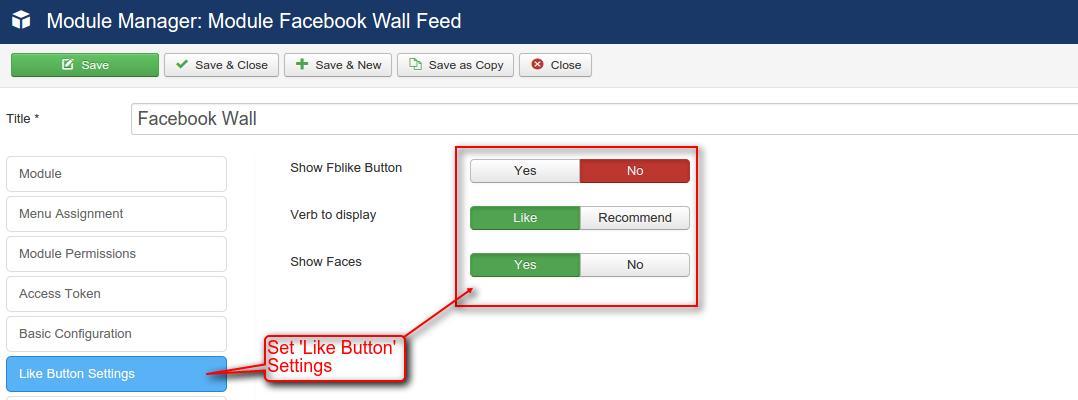 facebook wall feed