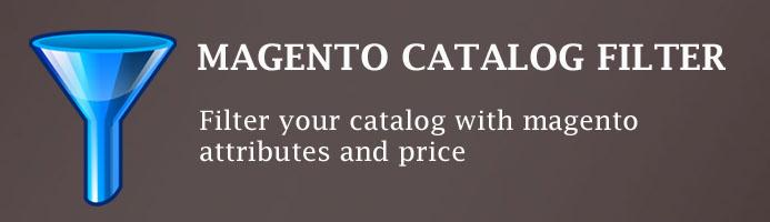 Magento Catalog filter