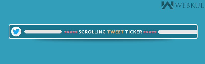 Joomla Scrolling Tweet Ticker