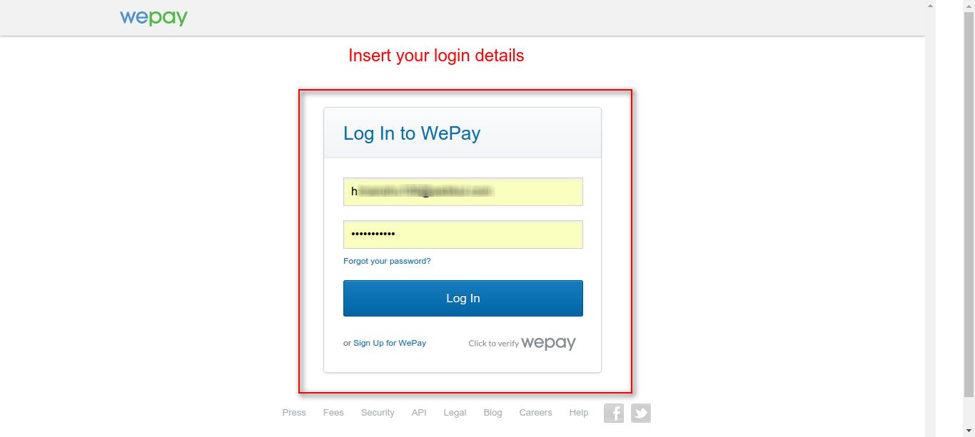 How To Create WePay App