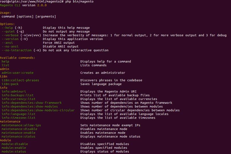 Magento2 Folder Structure