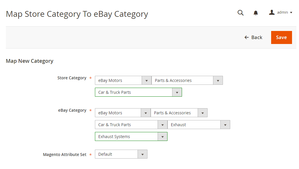eBay Connector for Magento2