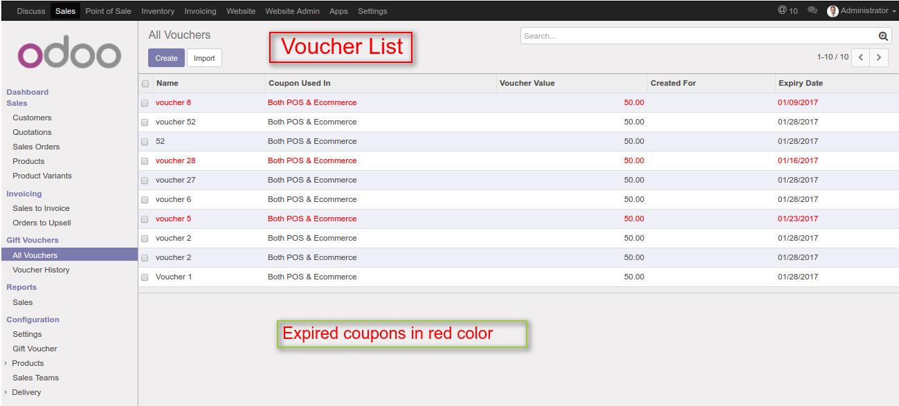 ODOO v10 POS VOUCHERS – Create a Voucher