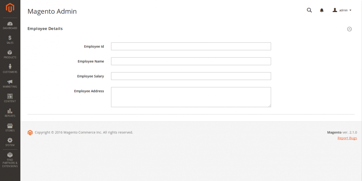 Create Ui Form Using Ui Component in Magento2 - Part 1
