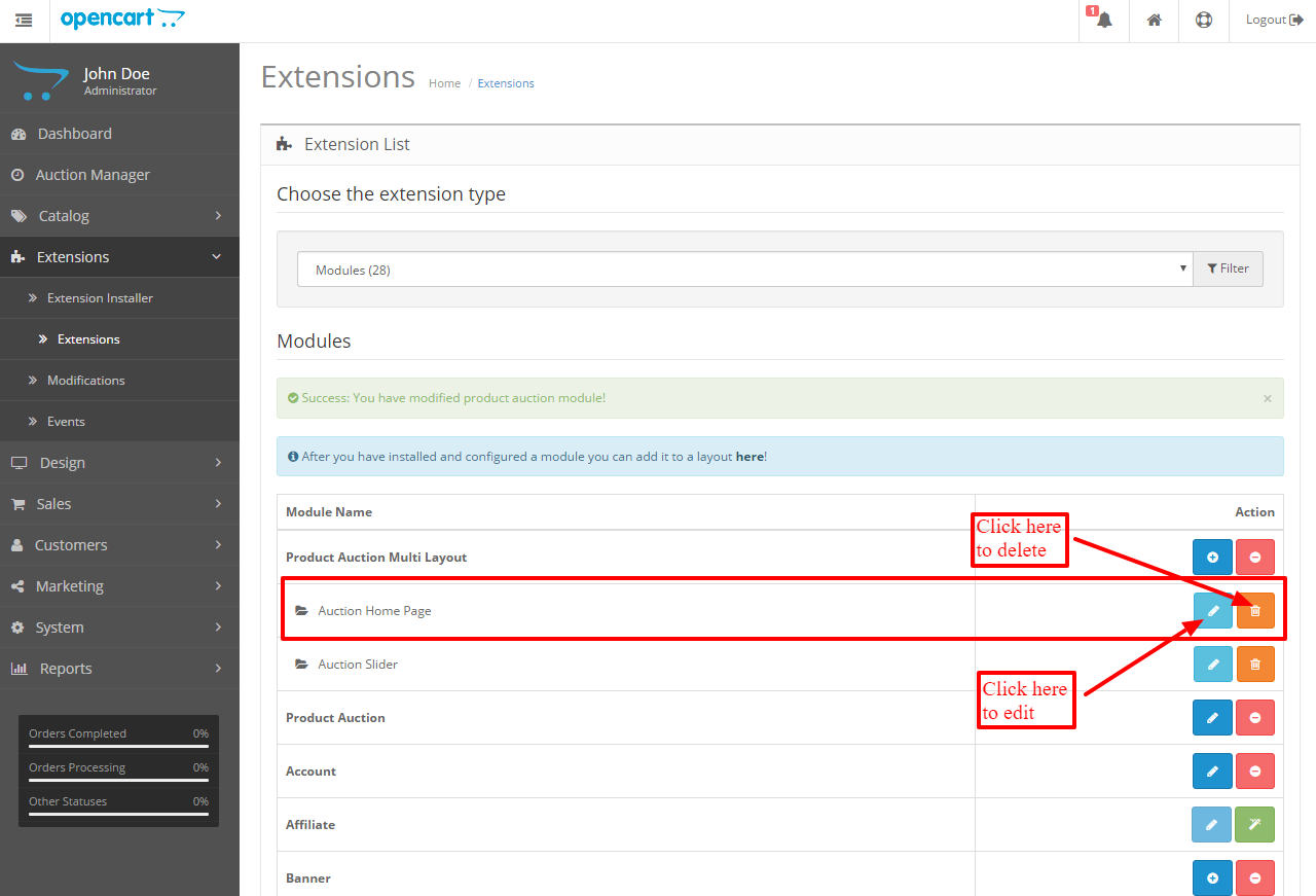 extensions-list