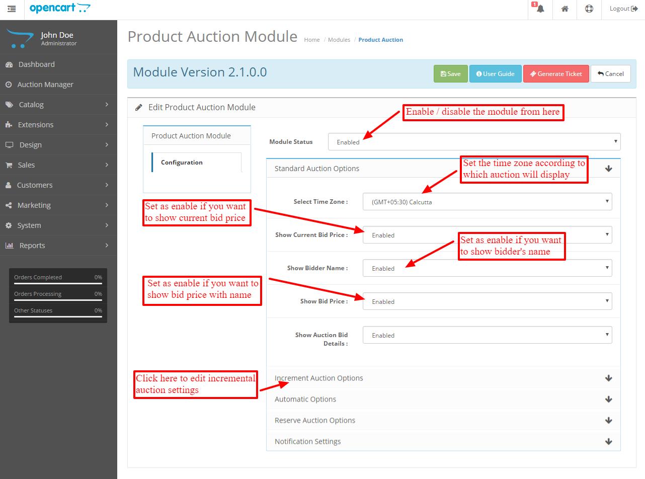 product-auction-module