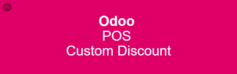 ODOO POS Custom Discount