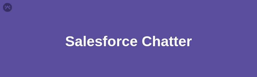 How to use the chatter in Salesforce