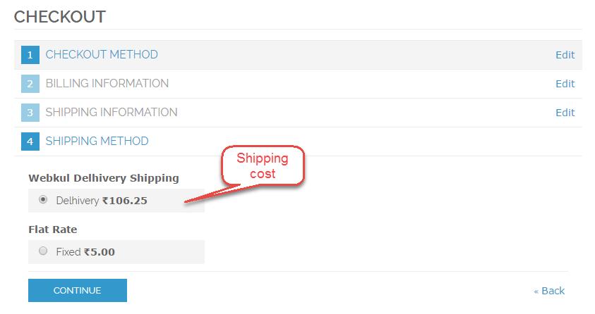 Magento delhivery shipping