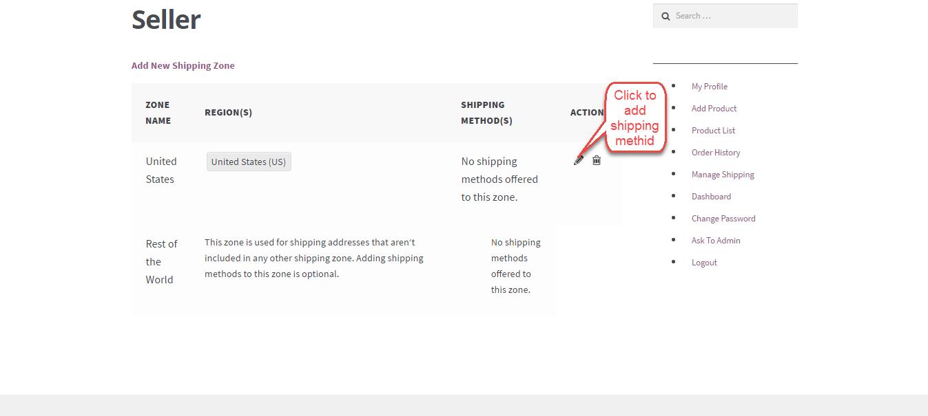 WooCommerce Marketplace Flat Rate Shipping