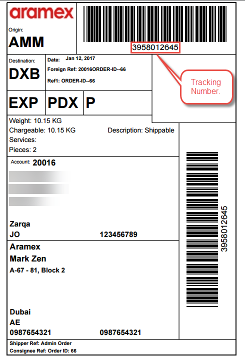 Working - Opencart Aramex Shipping On Frontend