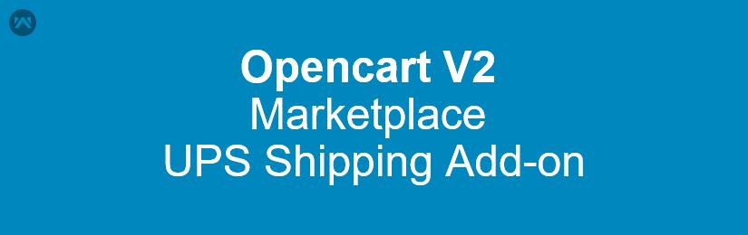 Opencart Marketplace UPS Shipping Version2