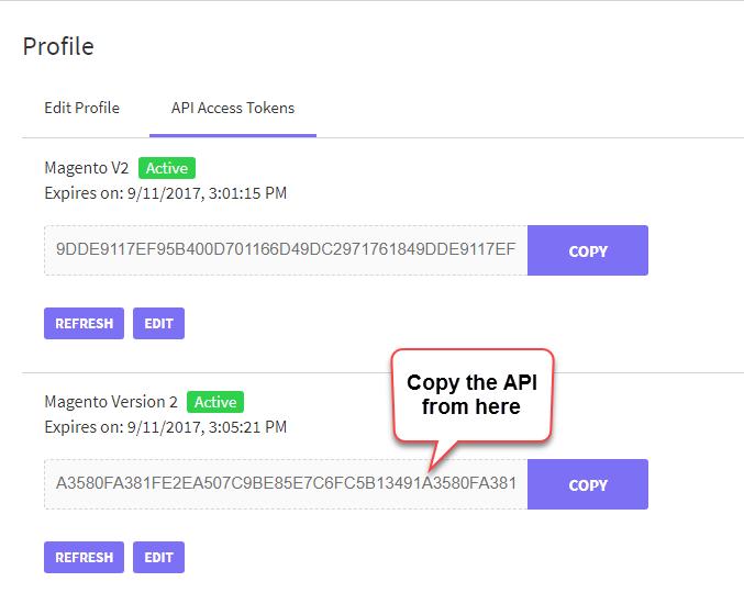 API Copy