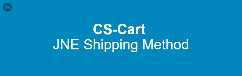 JNE Shipping Method For CS-Cart