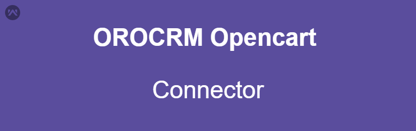 OROCRM Opencart Connector