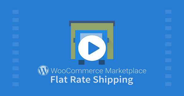 WordPress WooCommerce Marketplace Flat Rate Shipping Plugin