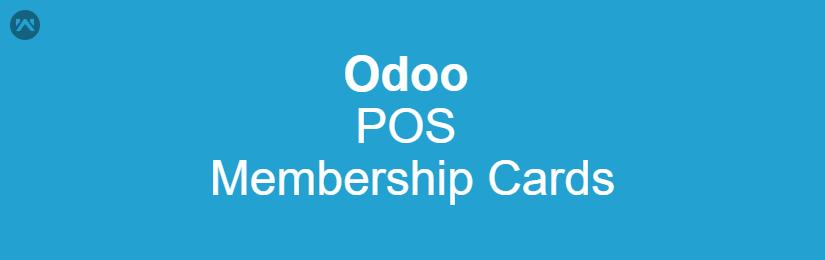 Odoo POS Membership Cards