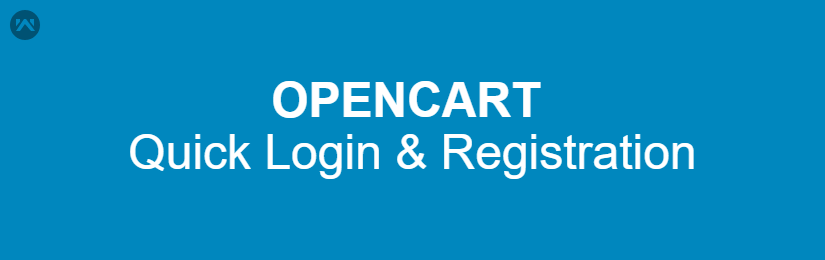 Opencart Quick Login and Registration