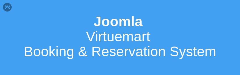 Joomla Virtuemart Booking and Reservation System