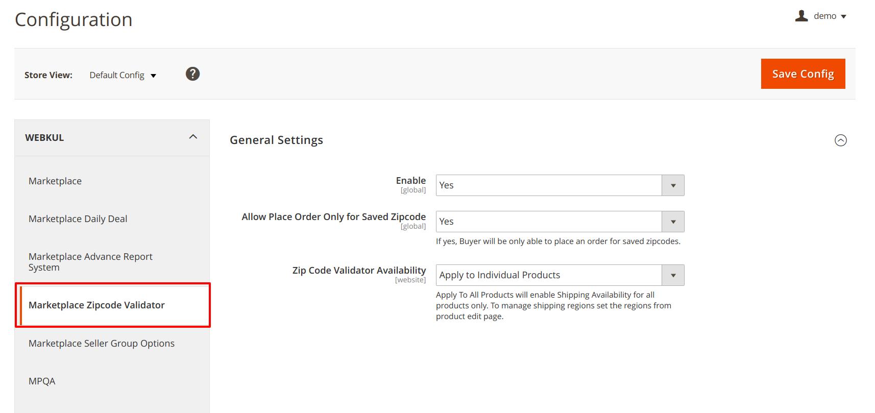Magento 2 Marketplace Vendor Shipping Availability Check - User Guide