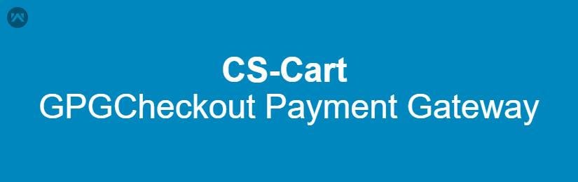 CS-Cart GPGCheckout Payment Gateway