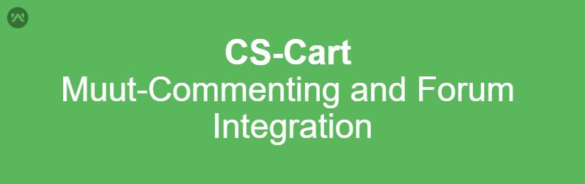 Muut – Commenting And Forums Integration for CS-Cart