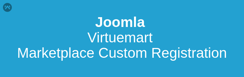 Joomla Virtuemart Marketplace Custom Registration