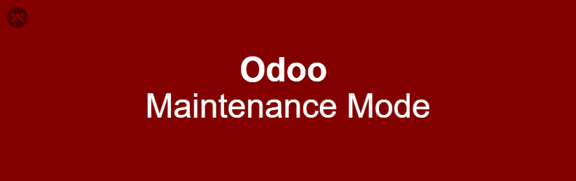 Odoo Maintenance Mode