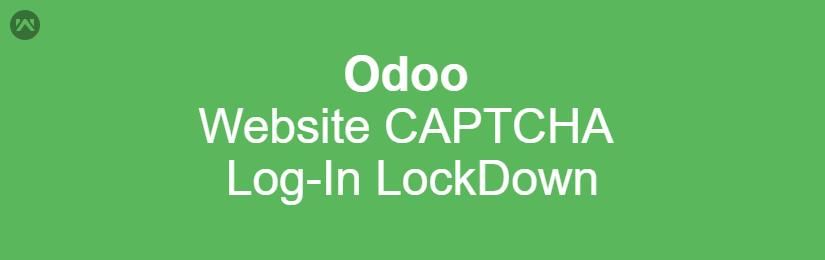 Odoo Website CAPTCHA Log-In LockDown