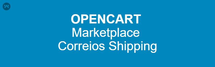 Opencart Marketplace Correios Shipping