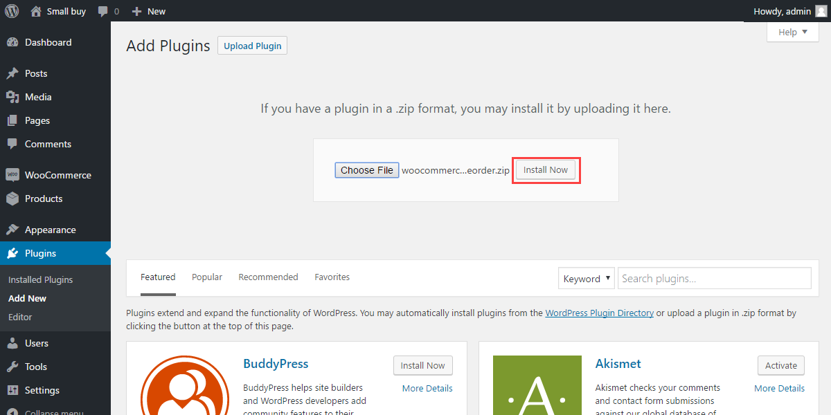 WordPress WooCommerce Pre Order