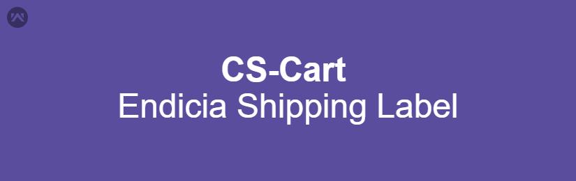 CS-Cart Endicia Shipping Label Generation