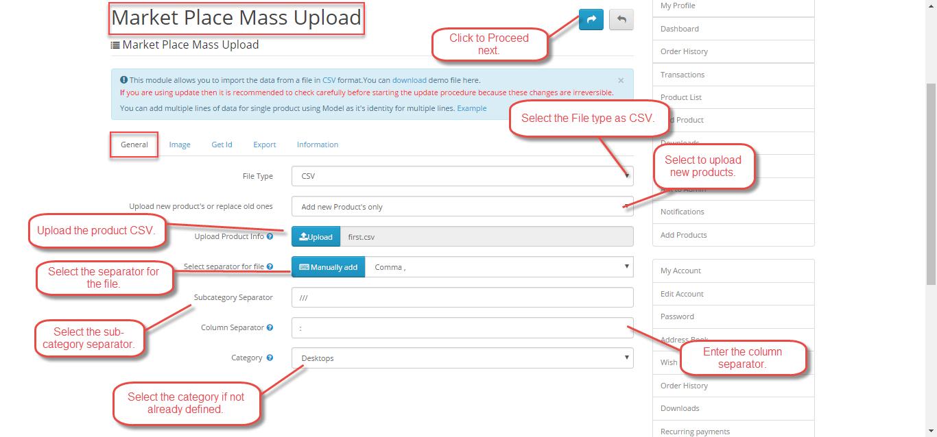 Seller-CSV-Product-Upload