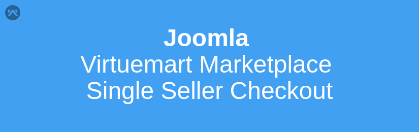 Joomla Virtuemart Marketplace Single Seller Checkout