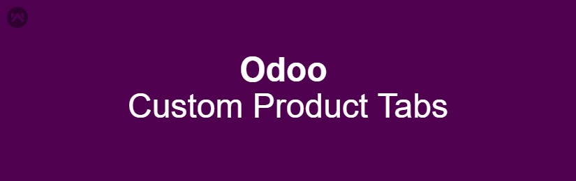 Odoo Custom Product Tabs