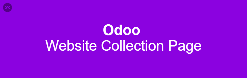 Odoo Website Collection Page