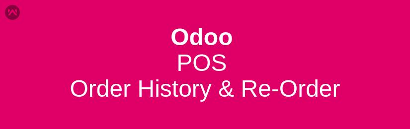Odoo POS Order History & Re-Order