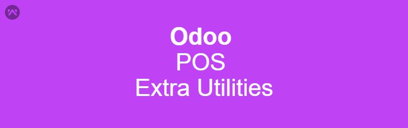 Odoo POS Extra Utilities
