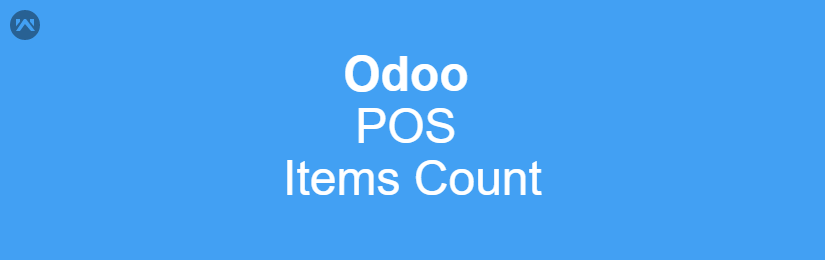 Odoo POS Items Count
