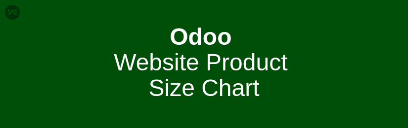 Odoo Website Product Size Chart