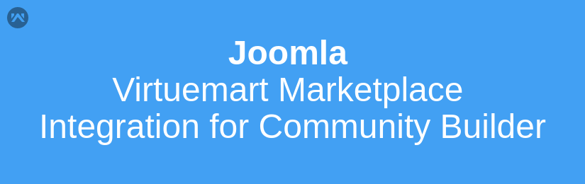 Joomla Virtuemart Marketplace integration for Community Builder