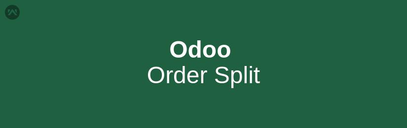 Odoo Order Split