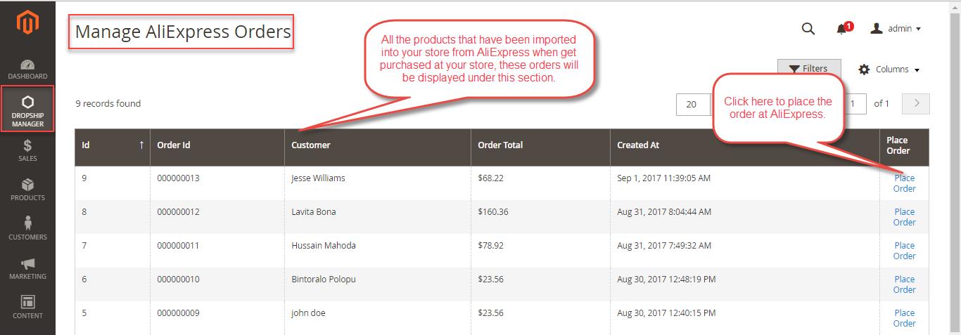AliExpress-Orders