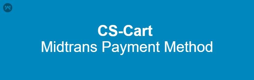 CS-Cart Midtrans Payment Method