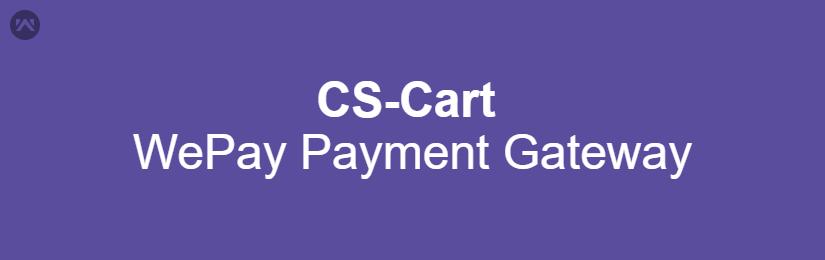 CS-Cart WePay Payment Gateway