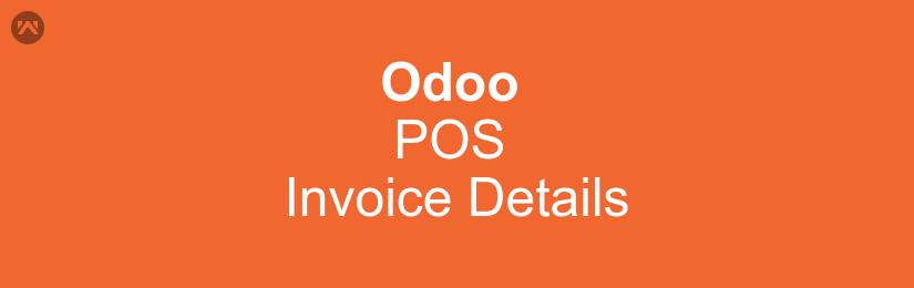 Odoo POS Invoice Details