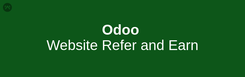 Odoo Website Refer and Earn