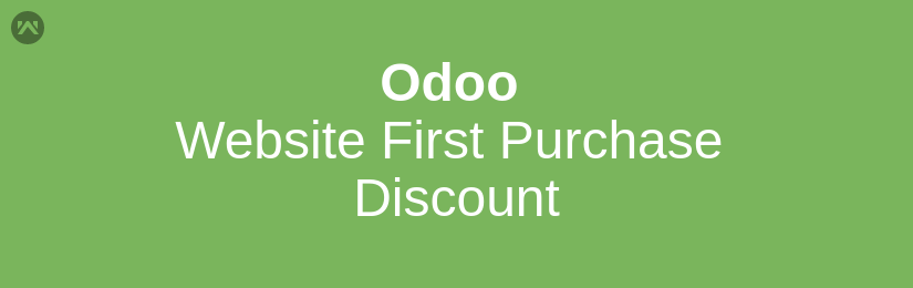 Odoo Website First Purchase Discount