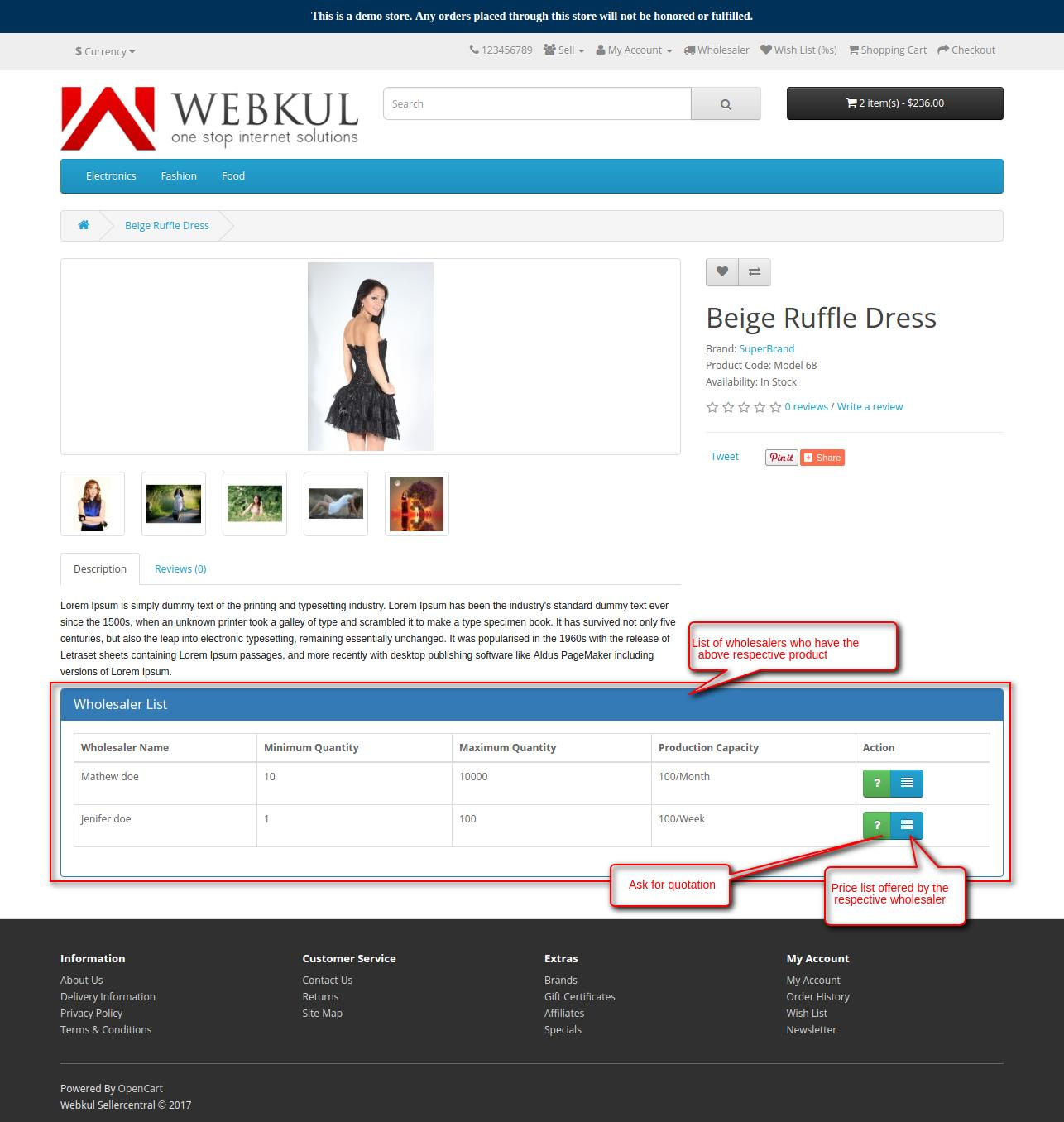 seller wholesale product with multiple wholesaler