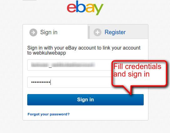 eBay Application
